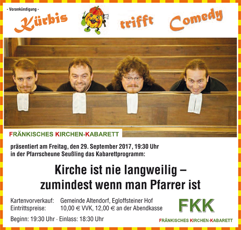 Kuerbis trifft Comedy 2017